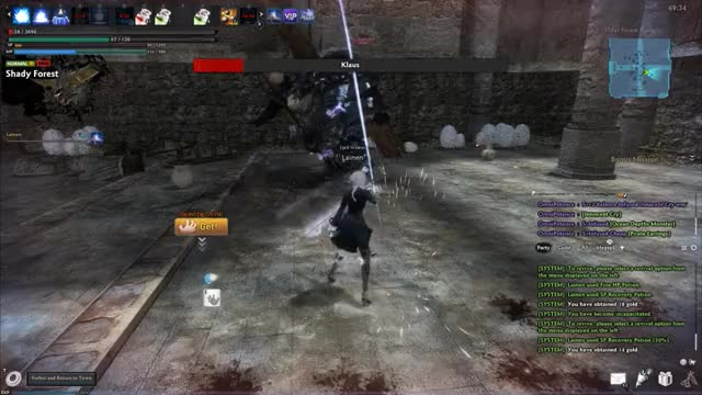 Watch and share Mabinogi Heroes GIFs and Double Ko GIFs by deku-j on Gfycat