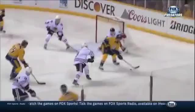 Watch Preds strike twice in 12 seconds against Darling GIF on Gfycat. Discover more related GIFs on Gfycat