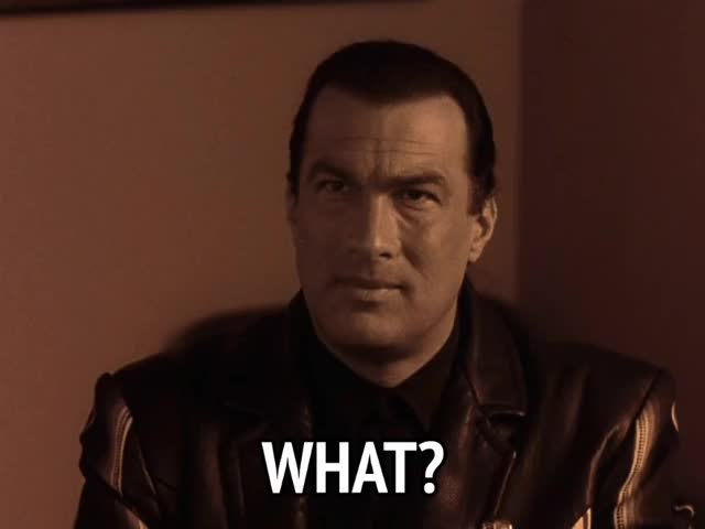 Watch and share Fire Down Below GIFs and Steven Seagal GIFs by MikeyMo on Gfycat
