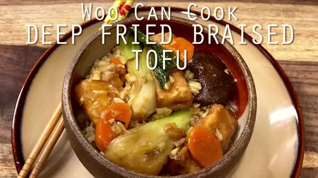 Watch and share Deep Fried Tofu GIFs and Chinese Cooking GIFs by WooCanCook on Gfycat
