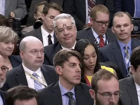 Watch Sean Spicer press conference John Gizzi drops his eye glasses GIF by MarcusD (@-marcusd-) on Gfycat. Discover more politics GIFs on Gfycat