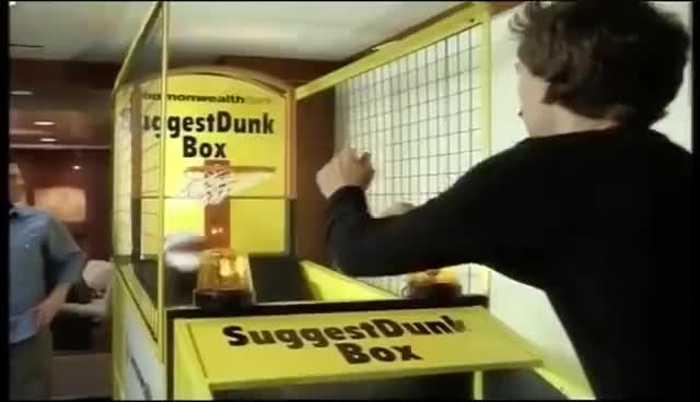 Watch b-b-b-b-b-basketbawlllll GIF on Gfycat. Discover more CBA, Commonwealth Bank, Tempany Deckert, advertising, basketball, funny, slam dunk, suggestion box GIFs on Gfycat