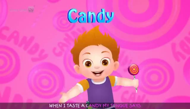 Watch and share The Taste Song & More Original Educational Learning Songs & Nursery Rhymes For Kids By ChuChu TV GIFs on Gfycat