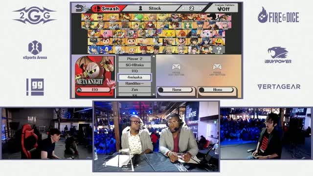 2GGT: Abadango Saga - Ito (Meta Knight) Vs. Komorikiri (Sonic) Top 48 Winners - Smash Wii U