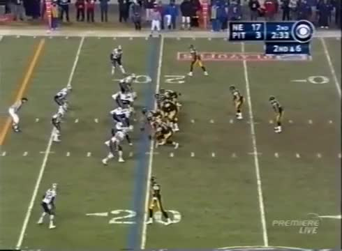 Watch and share AFC Championship Game 2004 Patriots Vs Steelers GIFs by casimir_iii on Gfycat