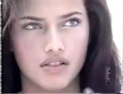 1999, adriana lima, Adriana Lima 18 years GIFs