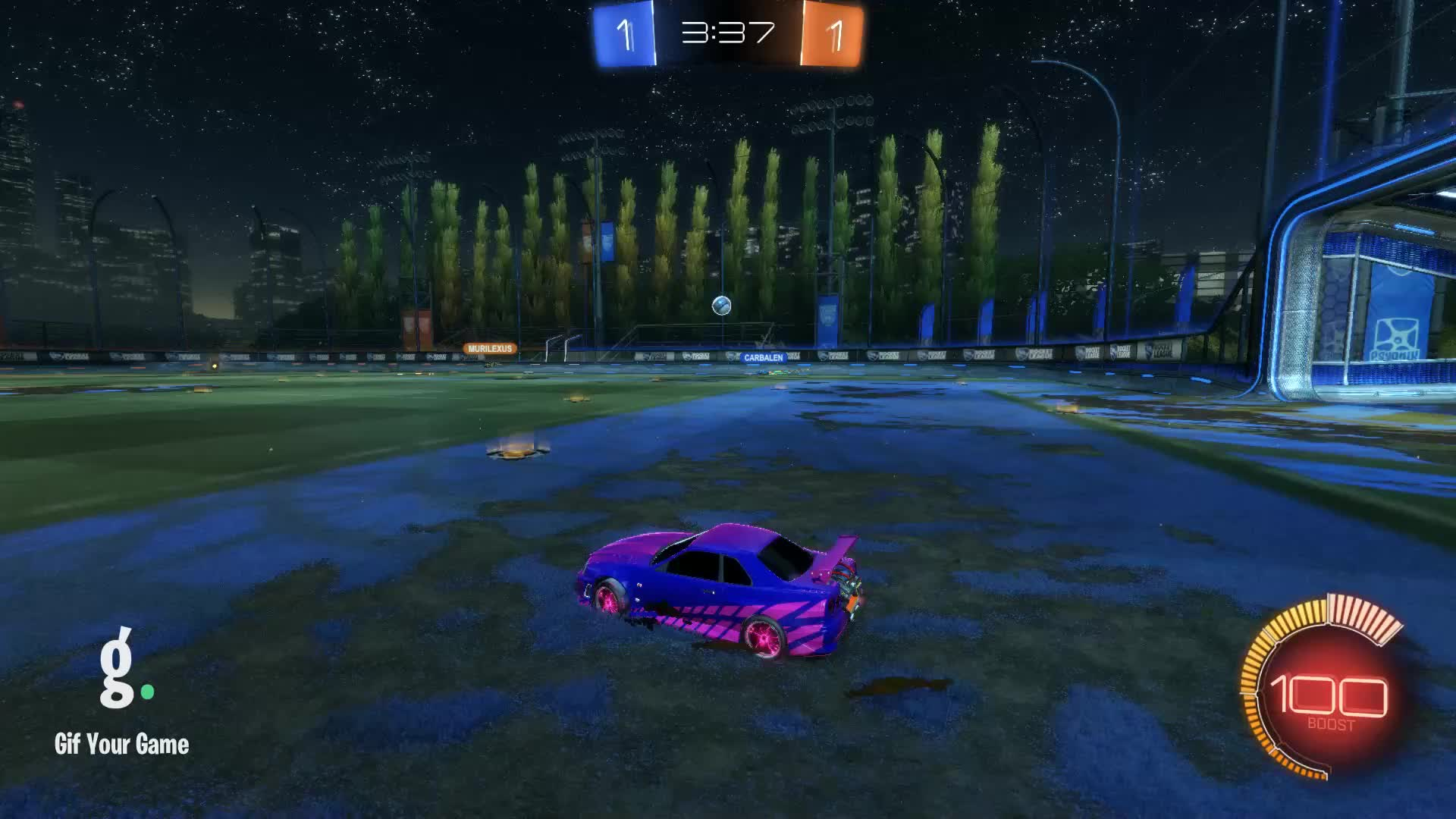 Gif Your Game, GifYourGame, Goal, RNZ, Rocket League, RocketLeague, Goal 3: RNZ GIFs