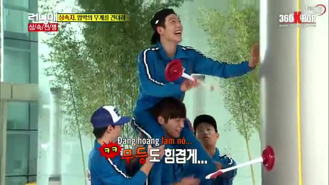 Kim Woo Bin ơi, hãy luôn vui vẻ và tràn đầy năng lượng như những khoảnh khắc trong Running Man này nhé! ảnh 5