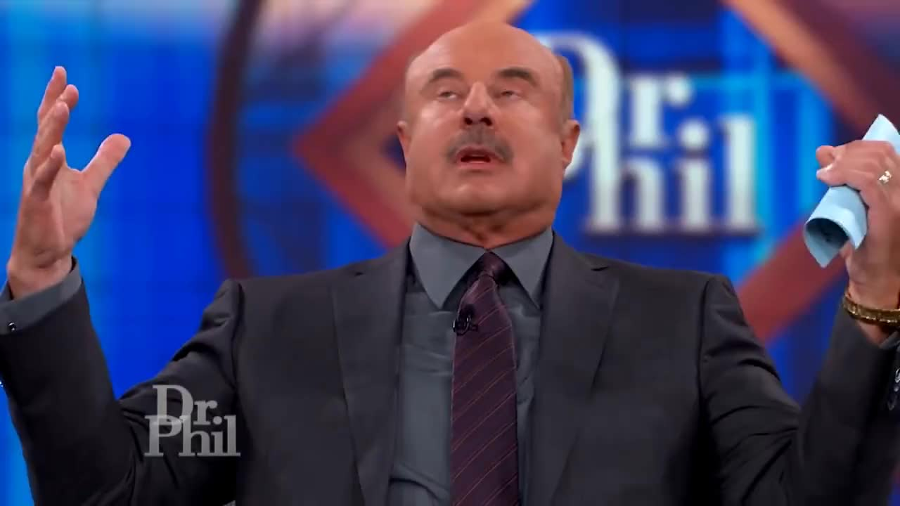 Advice, Drphil, Mcgraw, Mustache, Parenting, Personality, Show, family, help, host, interview, mental, phil, psychologist, relationship, self, series, television, therapy, wellness, Dr. Phil Speechless GIFs