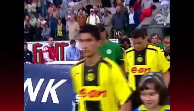 Watch and share Nuri Sahin's First Bundesliga Game GIFs on Gfycat
