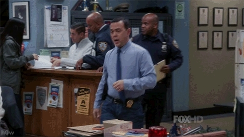 GfycatDepot, brooklynninenine, Sexy train is leaving the station. Check out this caboose. later sluts. [Brooklyn Nine Nine 99 Detective Charles Boyle Joe Lo Truglio over confident good bye cya peace out ] (reddit) GIFs