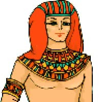 Watch and share Egypt Pharoah Pharaoh Turns Egyptian Emoticon Emoticons Animated Animation Animations Gif animated stickers on Gfycat