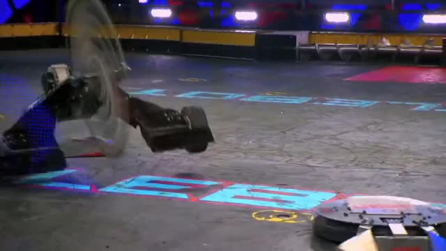 Watch Warrior Clan vs. Nightmare - BattleBots GIF on Gfycat. Discover more abc, computer, robots, television, trailer, tv GIFs on Gfycat