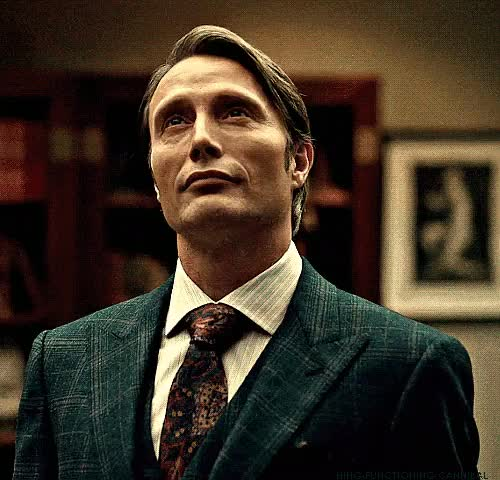 Watch and share Hannibal Lecter GIFs and Nbc Hannibal GIFs on Gfycat