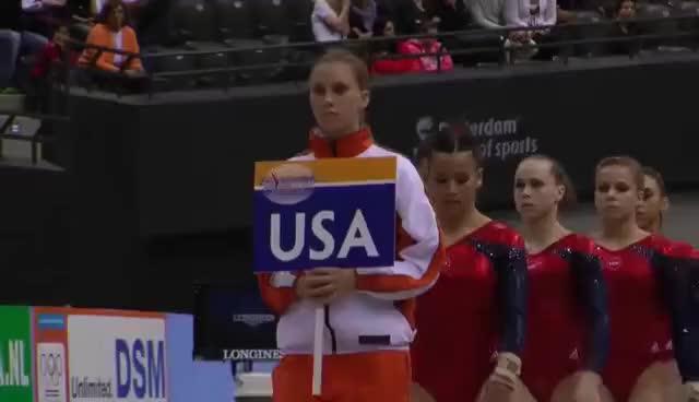 Watch and share Gymnastics GIFs and Usa GIFs on Gfycat