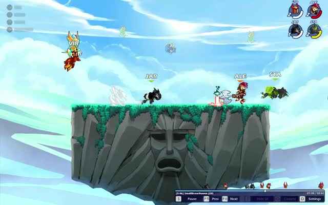 Watch and share Brawlhalla 2019-07-19 18-00-37 GIFs on Gfycat