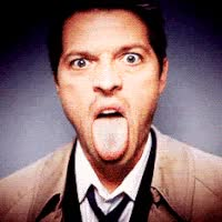 Watch funny castiel gif GIF on Gfycat. Discover more misha collins GIFs on Gfycat