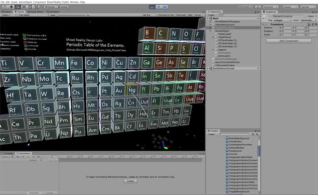 Watch and share Periodic Table Of The Elements - Pressable Button GIFs by Dong Yoon Park on Gfycat