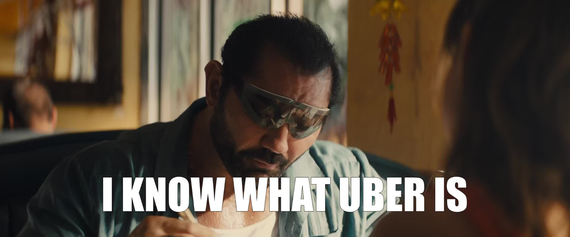 dave bautista, i know, stuber, stuber movie, uber, I Know What Uber Is GIFs