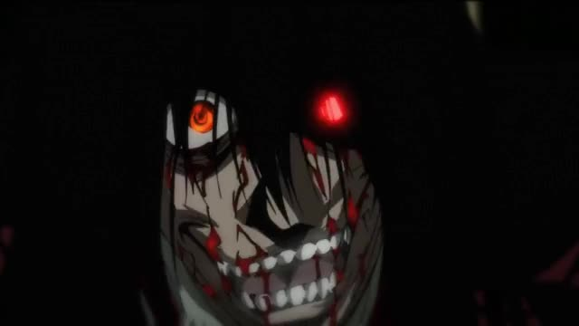 Watch and share Hellsing Ultimate Luke Valentine Vs Alucard BD 1080p [ENG DUB] - [Ultimate Quality] GIFs on Gfycat