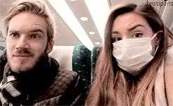 Watch stay awesome GIF on Gfycat. Discover more 1k, brotag, cutiepiemarzia, felix kjellberg, marzia bisognin, melix, melix edit, mg, pewdiepie, request, youtubers GIFs on Gfycat