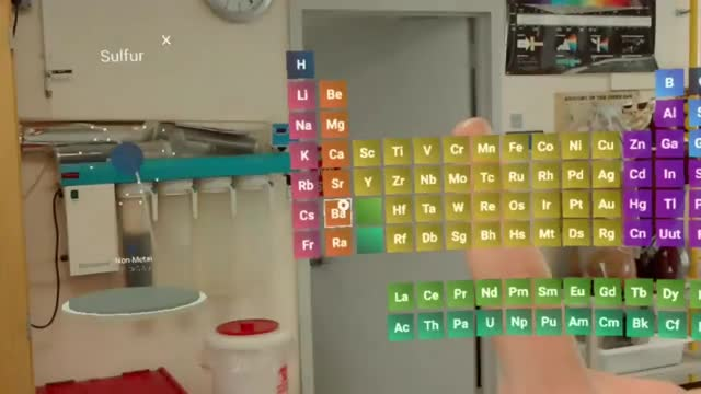 Mylab on hololens brings an interactive periodic table to the mylab on hololens brings an interactive periodic table to the chemistry classroom urtaz Image collections