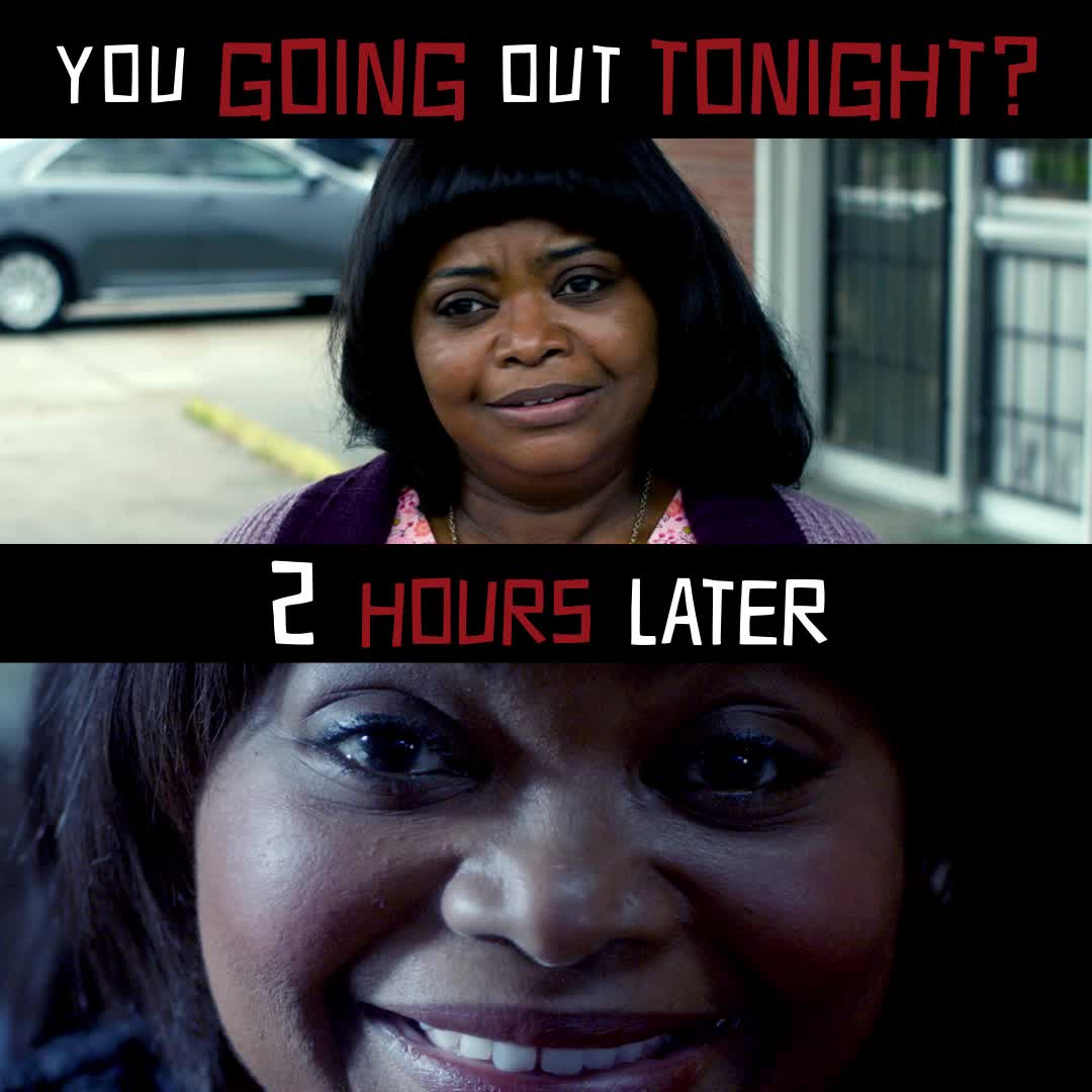 friday, funny, ma, ma movie, meme, octavia spencer, party, MA Going Out Tonight Meme GIFs