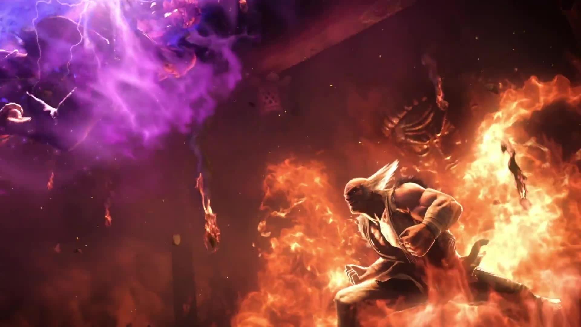 AKUMA Vs HEIHACHI Cinematic Trailer Tekken 7 Fated Retribution