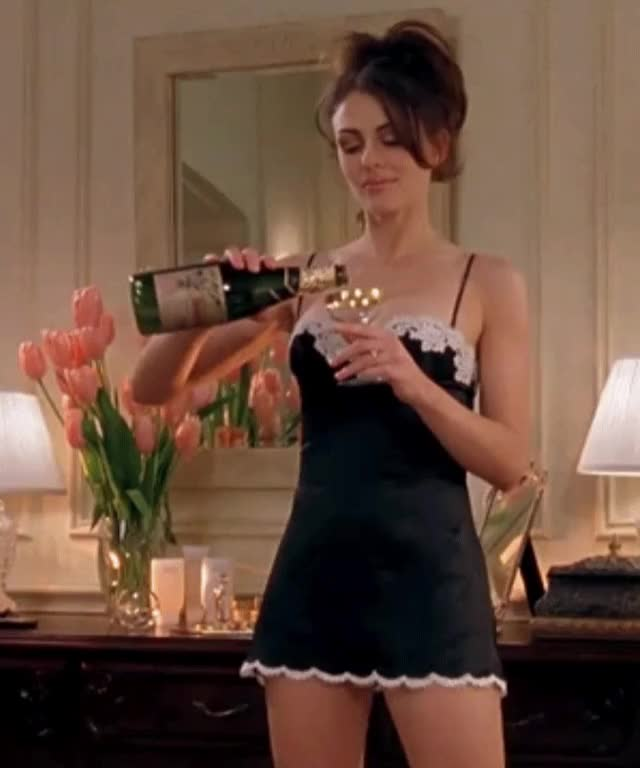 Watch and share Elizabeth Hurley GIFs by shapesus on Gfycat
