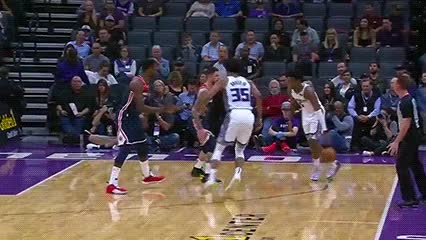 Watch De'Aaron Fox — Sacramento Kings GIF by Off-Hand (@off-hand) on Gfycat. Discover more 102618 GIFs on Gfycat