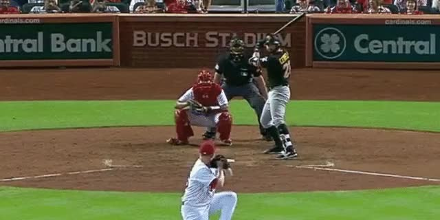 Watch and share Cervelli Hr 0531 GIFs by DK Pittsburgh Sports on Gfycat