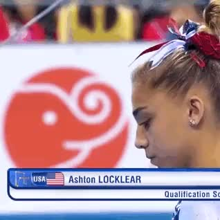 Ashton Locklear (USA) -Nanning 2014 UB EF- 4th place15.266 (