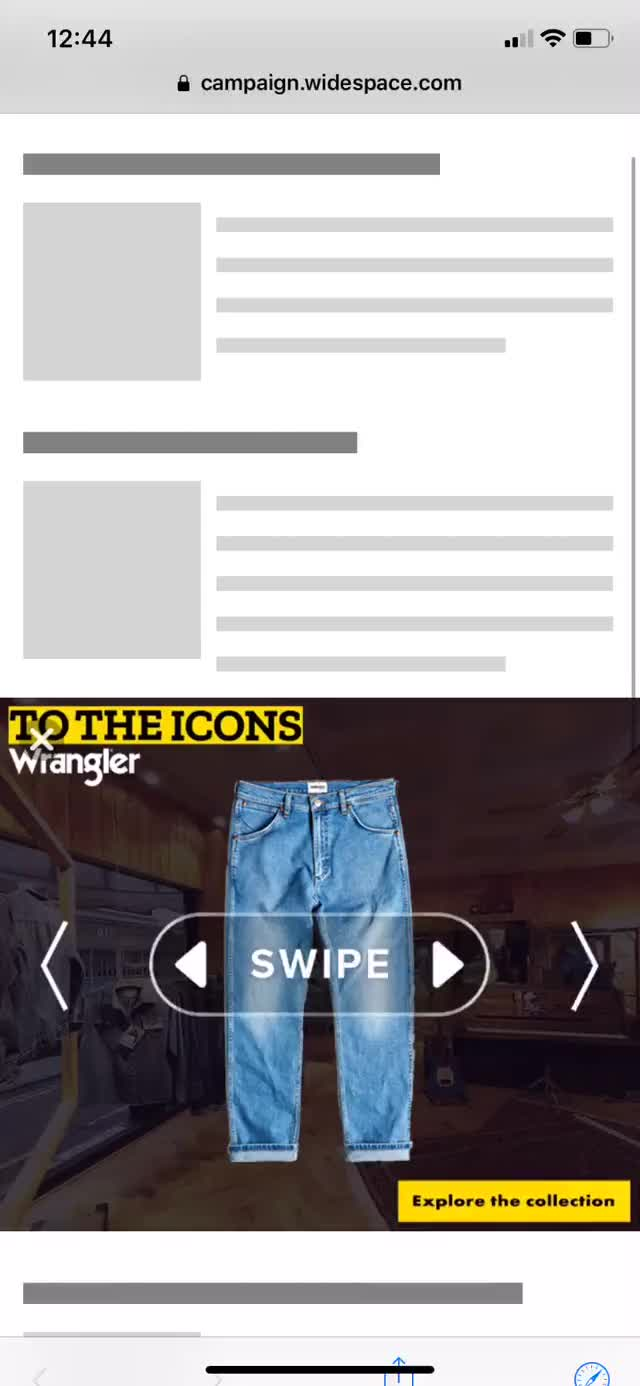 Watch and share Widespace - Static Swipe GIFs on Gfycat