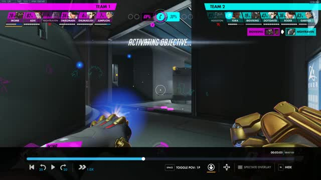 Watch and share Overwatch GIFs by Miss Chanel on Gfycat