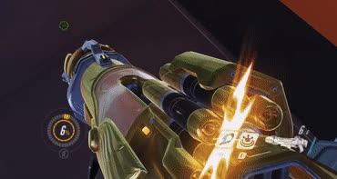 glitch, overwatch, Golden weapon blinking problem(AMD) GIFs