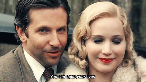 bradley cooper, jennifer lawrence, Bradley Cooper and Jennifer Lawrence in the movie adaptation ofSerena. GIFs