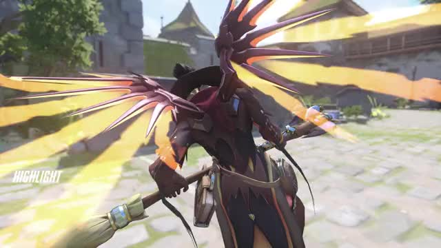 Watch behind-the-scenes-of-potg GIF on Gfycat. Discover more highlight, mercy, overwatch GIFs on Gfycat