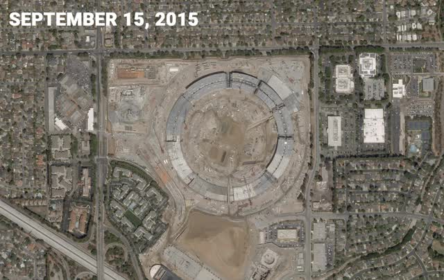 Watch apple-campus-plent-space-satellite GIF by Dave Mosher (@davemosher) on Gfycat. Discover more apple campus, construction, satellite images GIFs on Gfycat