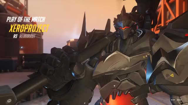 Watch and share Overwatch GIFs and Reinhardt GIFs by xeroproject on Gfycat