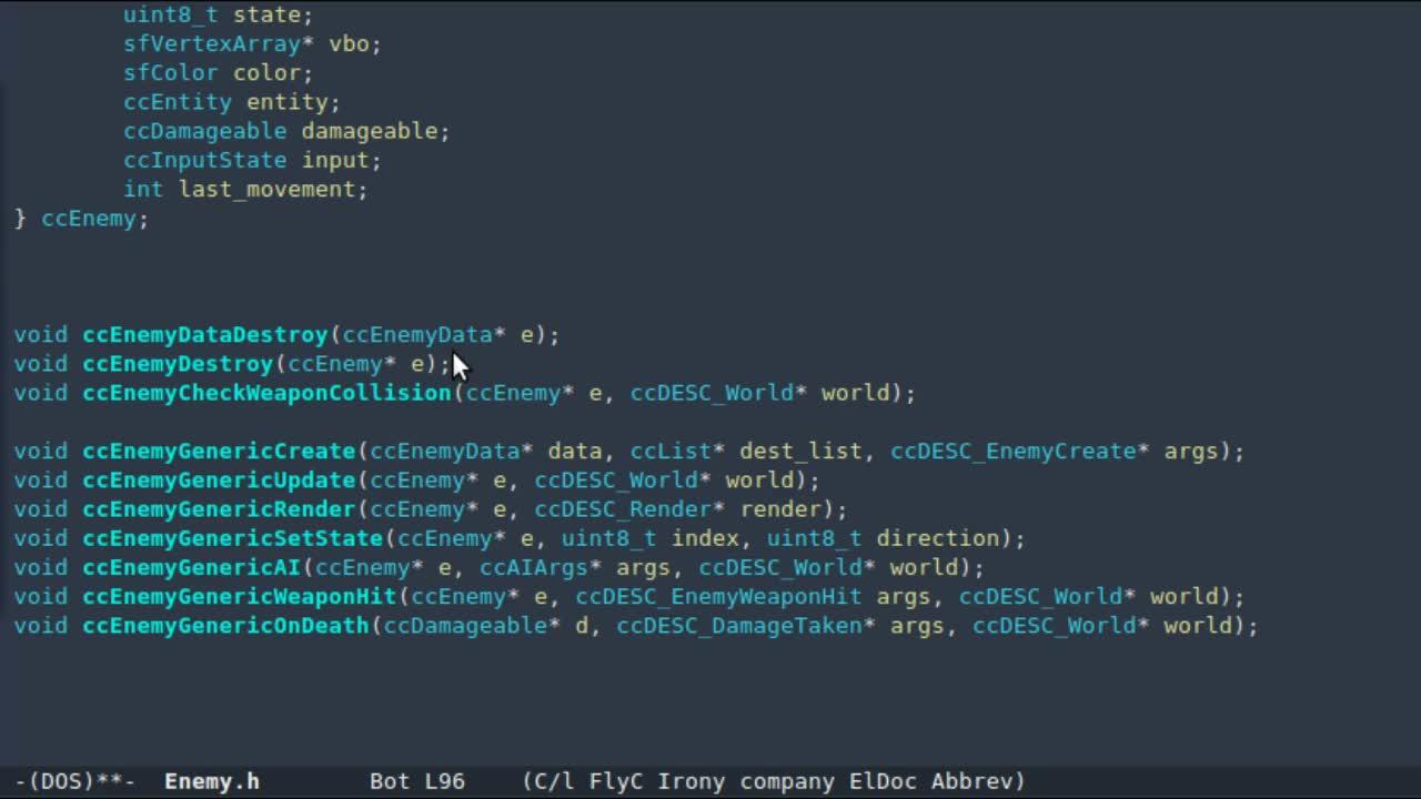 emacs, intellisense, programming, emacs irony fuzzy matching GIFs