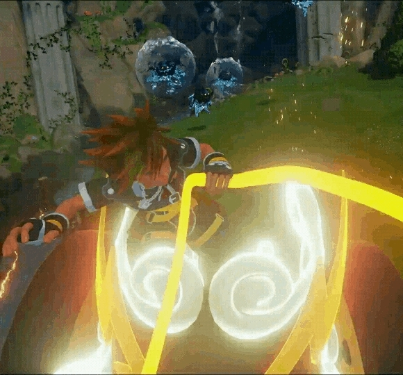 kingdomhearts, I think Sora is just as excited as we are. (reddit) GIFs