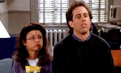 Watch and share Jerry Seinfeld GIFs and Whatever GIFs by Reactions on Gfycat
