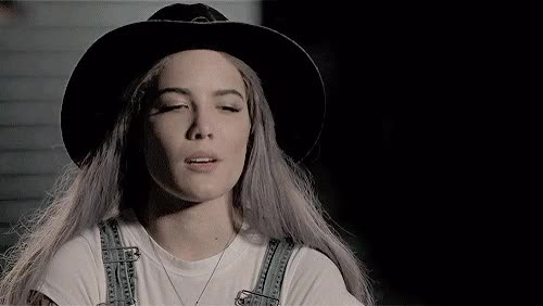 Watch and share Halsey GIFs on Gfycat