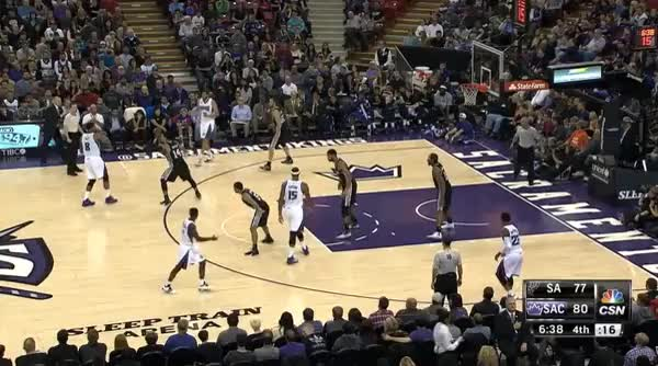 Watch and share DeMarcus Cousins Seals Tim Duncan For Slam GIFs by armstrongwinter on Gfycat