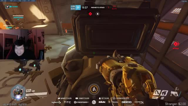 aimbotcalvin Playing Overwatch - Twitch Clips