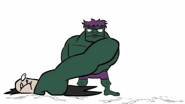 Watch and share Hulk Smash Loki  Tumb GIFs on Gfycat
