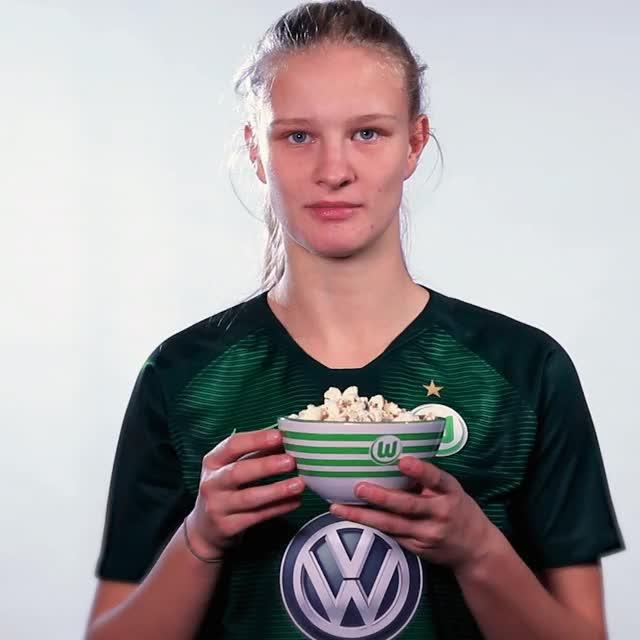 Watch 02 Popcorn GIF by VfL Wolfsburg (@vflwolfsburg) on Gfycat. Discover more related GIFs on Gfycat