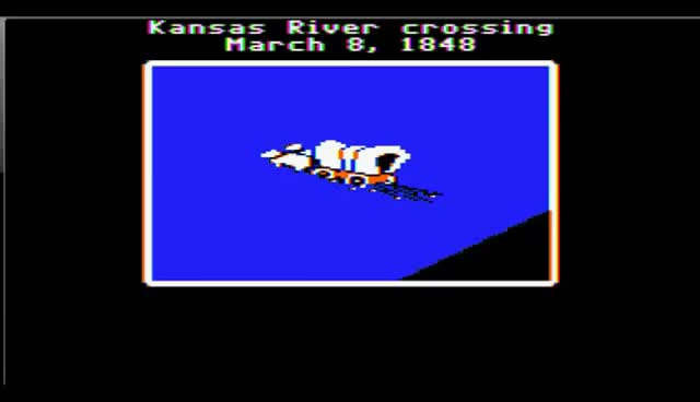 Watch and share The Oregon Trail Supplies Lost GIFs on Gfycat