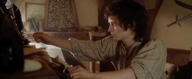 Watch and share Elijah Wood GIFs and Celebs GIFs by Gifs on Gfycat