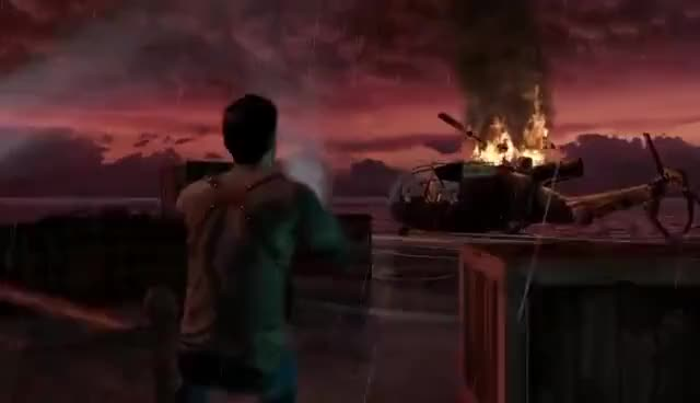 Uncharted 1 The Nathan Drake Collection Final Gif Gfycat